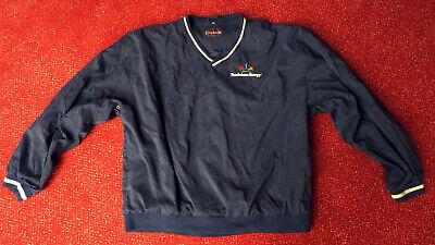 Original King Louie Blouson Pullover Shirt Touchstone Energy Gr. Xl Top Zustand Ein Kunststoffkoffer Ist FüR Die Sichere Lagerung Kompartimentiert