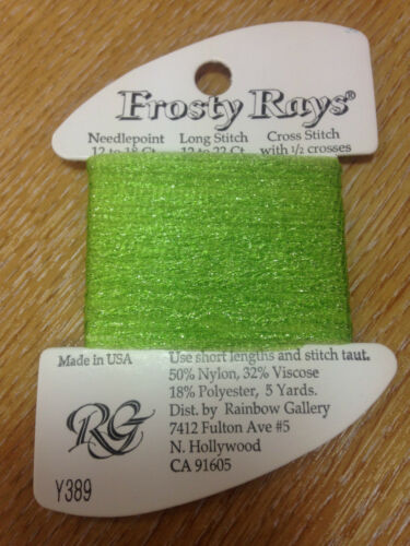 Frosty Rays Rainbow Gallery thread fiber embroidery floss cross stitch Y300-89