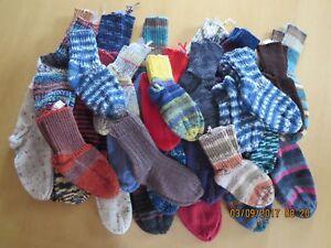 Calze, Calze Bambini, a maglia, maglioni da uomo, lavoro manuale, Div. motivi, gr34/35  </span>