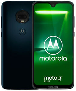 Motorola-Moto-G7-plus-XT1965-3-Single-Sim-Deep-Indigo-Top-Condition