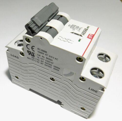 1 Amp LSis 2 Pole Din Rail MCB Circuit Breaker UL1077 6kA @ 480V; 10kA @ 240V