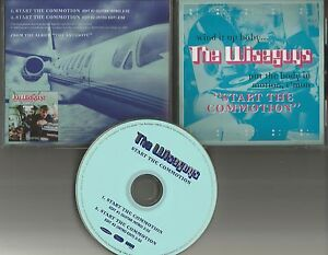 Details about THE WISEGUYS Start the Commotion w/ 2 RARE EDITS Guitar intro  PROMO DJ CD Single