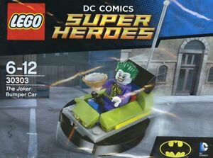 LEGO-DC-Comics-Superheroes-The-Joker-Parachoques-Coche-30303-Polybag-BNIP