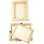 3D-HOLZ-RAHMEN-Rechteck-Quadrat-mit-Kante-Glas-fuer-Bilder-Geld-Geschenke-uvm