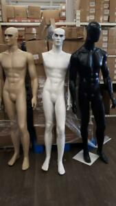 FEMALE AND MALE FULL BODY PLASTIC MANNEQUIN (With HEAD $114 Without HEAD $89) Canada Preview