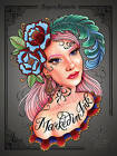 Marked in Ink: A Tattoo Coloring Book by Megan Massacre (Paperback, 2016)