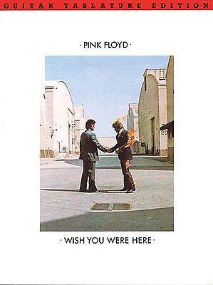 Diligent Pink Floyd Wish You Were Here Guitar/v/tab Nourishing Blood And Adjusting Spirit Instruction Books, Cds & Video
