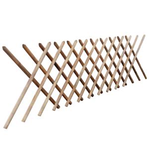 Recinzione-staccionata-estensibile-H80x250-traliccio-impregnato-grigliato-aiuola