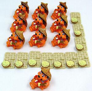 10 Kinder figurines CASTORCIN MAMIN ueei Castor-i Figuren Castorcin Mamin UeEi Biberafficher le titre d`origine qq1IgQes-09102839-937504940