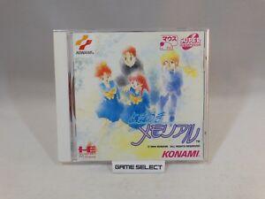 Tokimeki Memorial Nec Pc Engine Cd Rom Cdrom Import Jp Jap Japanese Original Ebay