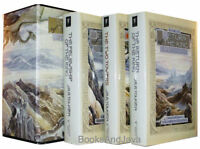 Lord Of The Rings ( Hardcover Boxed Set ) Felowship Of The Ring,two Towers +