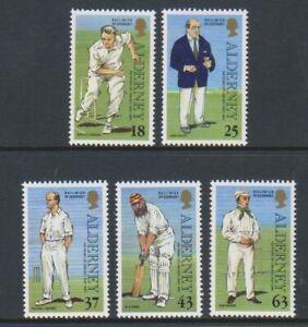 Alderney-1997-Cricket-Set-MNH-Sg-A96-100