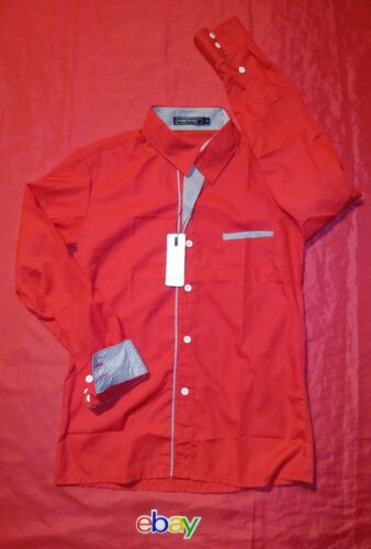 3 Up Lot Ding Ge extra Button slim fit Fu Shi M Sz st Shirts Tunevuse Heren Koreaanse eI2ED9WHY