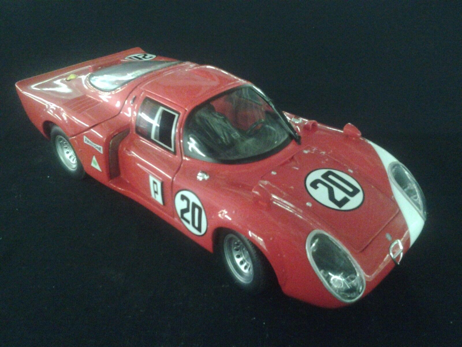 Ricko Alfa Romeo 33.2 1968 1 18 Schütz   Vaccarella 24h Daytona (MCC)