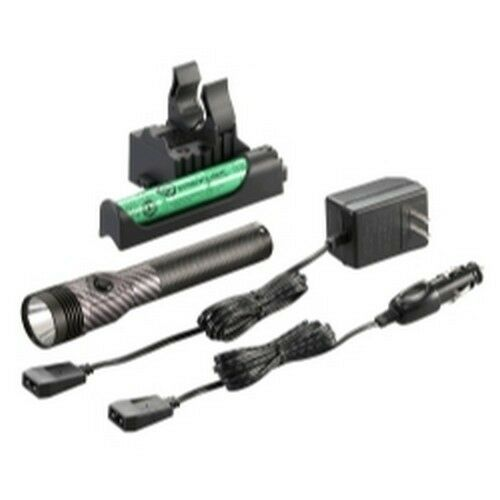 Streamlight 75441 Stinger LED HL Flashlight 120V//AC DC w//Charger