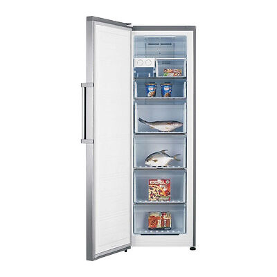 KENWOOD KTF60X15 Tall Freezer - Stainless Steel - Currys
