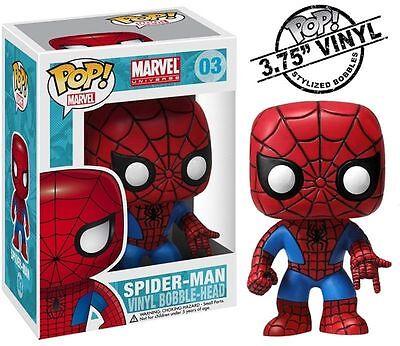 Funko Pop Marvel Vinyl Spiderman 1 Movie Web Toy Figure Collectible Comic Con