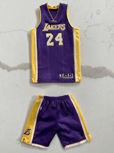 NEW 1/6 Original ENTERBAY Kobe Bryant #24 Purple Jersey Set ONLY ...
