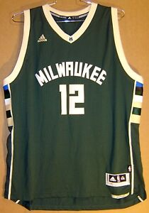 new product 1d0b0 bdc9c Details about MILWAUKEE BUCKS JABARI PARKER #12 Adidas GREEN NBA Size XXL  JERSEY