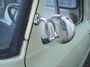 """3/"""" acier inoxydable pince clip sur porte de dépassement peep miroir ford pop populaire"""