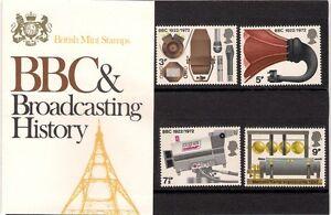 GB-1972-BBC-amp-Broadcasting-History-Presentation-Pack-43-TYPE-2-Marconi-Radio-TV
