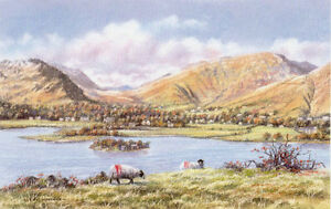 Grasmere by Peter Worswick Signed Limited Edition Lake District Lakes - Whitchurch, Shropshire, United Kingdom - Grasmere by Peter Worswick Signed Limited Edition Lake District Lakes - Whitchurch, Shropshire, United Kingdom