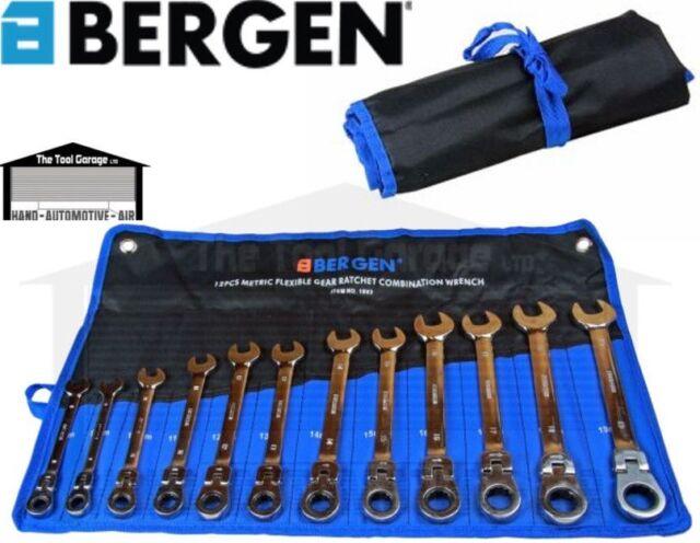 25pc SPANNER SET by BERGEN TOOLS 6mm to 32mm Metric Combination Wrench Set