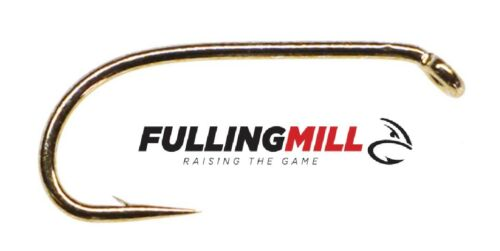 FULLING MILL 31530 Comp Heavyweight 50 Pack Bronze fly tying hooks pêche