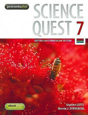 1 of 1 - Science Quest 7 Australian Curriculum Edition & eBookPLUS ' Graeme Lofts