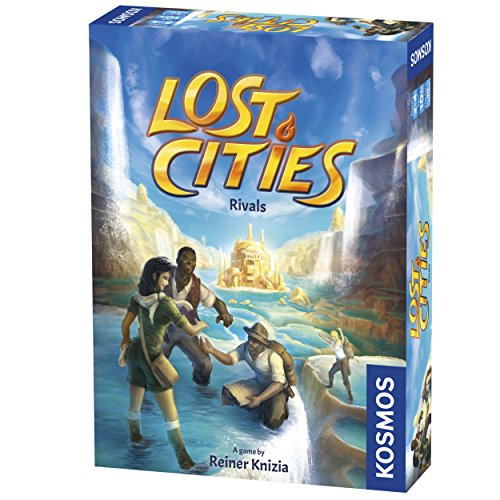 Lost Cities Rivals 2 Player Card Game Thames /& Kosmos Reiner Knizia Tak 690335 for sale online