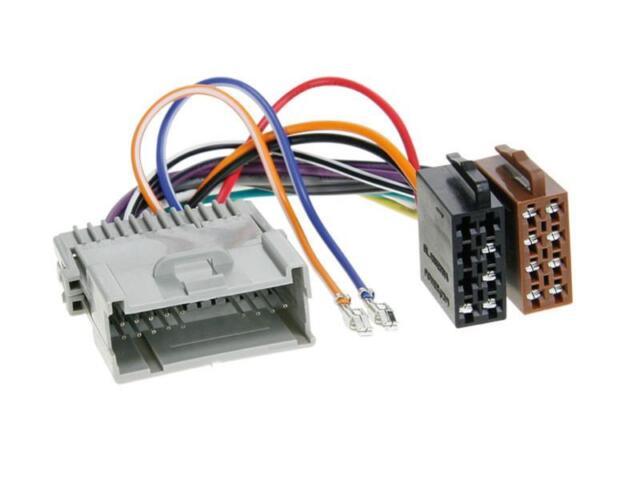 for Pontiac Montana Mini Van Sunfire Vibe Car Radio Adapter Cable Plug ISO