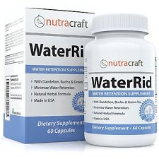 Natural Diuretic Water Pill with Dandelion and Potassium to Lose Water Weight...