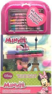 Disney-Minnie-Mouse-Kids-Take-Along-Sketch-Create-Dry-Erase-Set-Stickers-Crayons