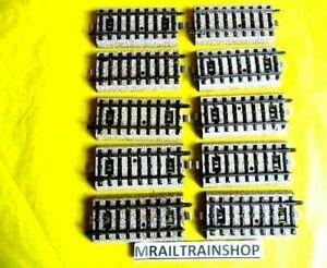 5129 MARKLIN HO - 10 x RECHTE RAILS/VOIES  DROITS 7 CM MÄRKLIN (D2101853)
