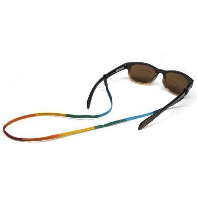 "Croakies World Cord Eyewear Retainer Guatemalan Spec Ends 24/"" Strap 3-Pack"