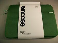 "Incase Notebook / Laptop / Chromebook / Mac 15"" Neoprene Sleeve Prairie Green"