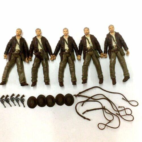 10x INDIANA JONES 2007 RAIDERS OF LOST ARK 3.75/'/' Figure hasbro toys /& accessory