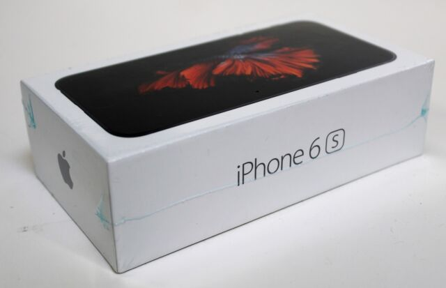 Apple iPhone 6s 32GB Space Gray(Verizon) A1688 (CDMA + GSM) New Other SEALED BOX