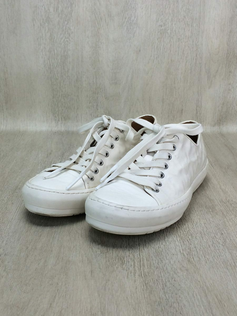 BOTH leather sneakers 41WHT tag-only shoe care shoes (K48284
