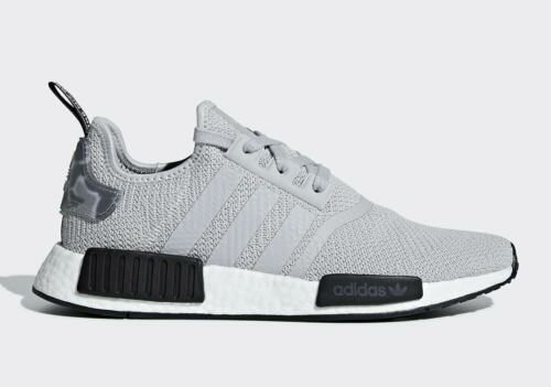 Adidas NMD R1 Boost Grey//Black Camo Tab Men's Running shoes Multiple Size