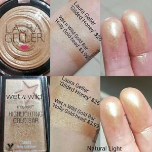 New Wet N Wild Color Megaglo Highlighting Gold Bar