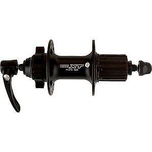 36 trous Noir Shimano Deore XT FH-M756 XT Disque 6-Bolt Freehub