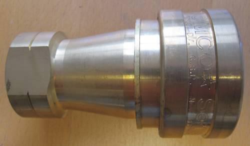 """ISO /""""B/"""" 1 /""""BSP tomco presa OTTONE accoppiamento idraulico th8-36-002"""