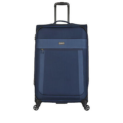 NEW Antler Translite Softside Spinner Case Large 81cm Blue 3.3kg