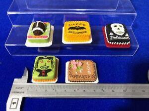 Handmade Miniature Dollhouse: Sheet Cakes (Clay) - 5 pcs (B)