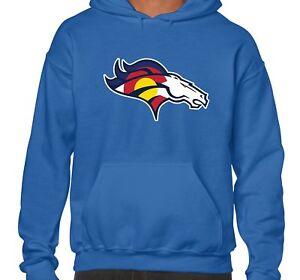 Denver Colorado Mens Blue Logo Teams Sport Sweatshirt Fan Hoodie Kombiniertes Mashup fSrpfF4qwW