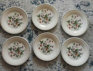 Set-of-6-Vintage-Ceramica-San-Marciano-Hand-Painted-Dinner-Plates-10-034-Italy