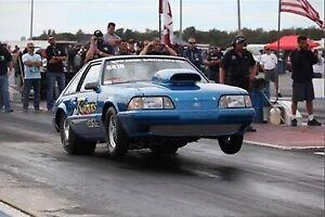 1988 Foxbody Mustang Drag Car Roller
