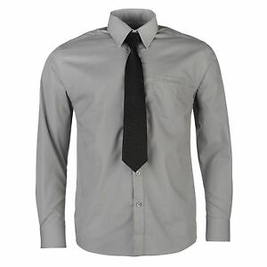mieux aimé 4eada c789e Détails sur Chemise Manches Longues + Cravate Homme PIERRE CARDIN Taille S  Neuve