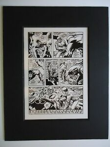 Details about '69 DAREDEVIL # 50 BARRY WINDSOR-SMITH J  CRAIG ROBOT LAST Pg  20 PRODUCTION ART